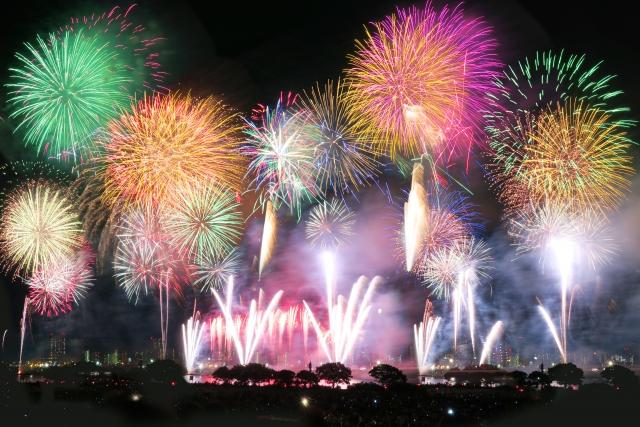 日本の文化・花火大会