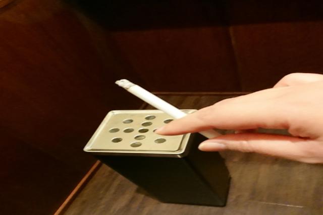 タバコのマナー