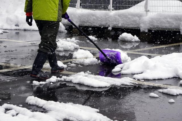 緊急事態記事・雪の備え